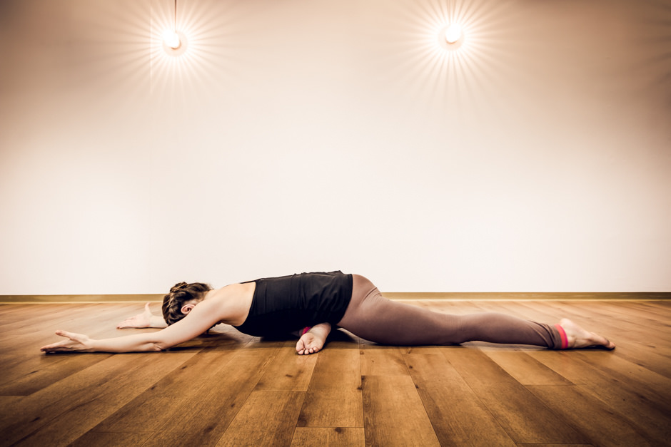 yin yoga pose