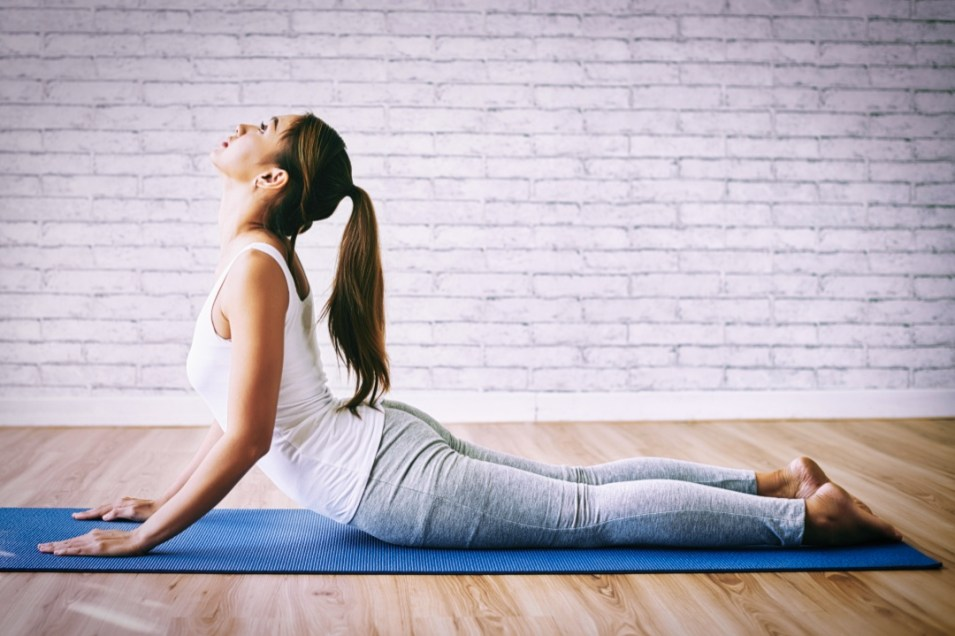 Yoga pose for Menstrual Pain
