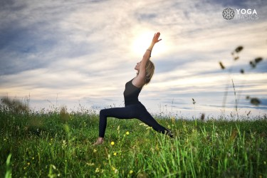Pose of the Month: Virabhadrasana I, Warrior 1