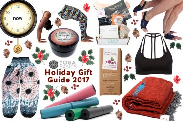 Yoga Basics Holiday Gift Guide 2017