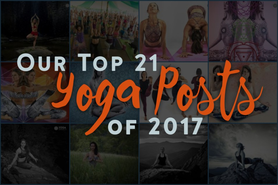 Our Top 21 Yoga Posts of 2017