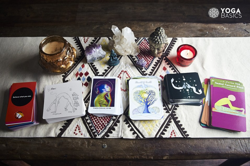 Card Decks for Yoga and Contemplation