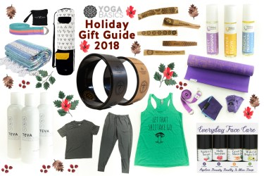 Yoga Holiday Gift Guide 2018
