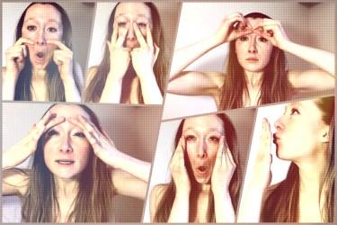 Facial Yoga poses