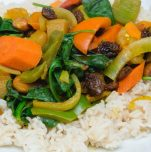 yogic veggie stew