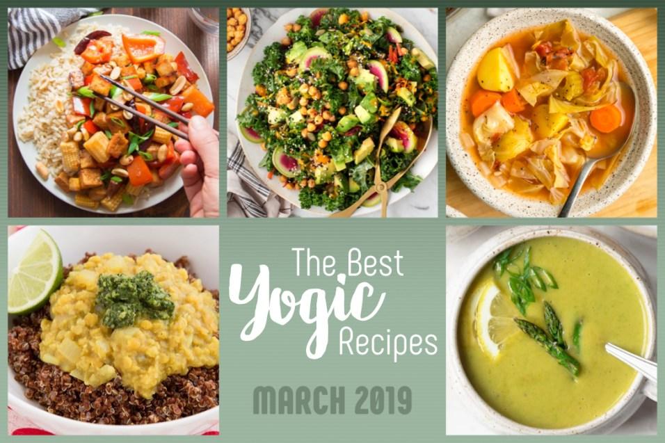 best yoga recipes