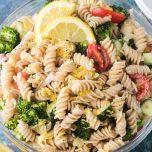 pasta salad yogic recipe