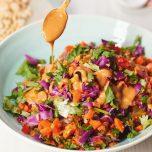 Thai Satay Salad recipe