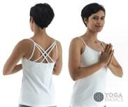 strappy yoga top