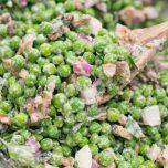 vegan-pea-salad recipe