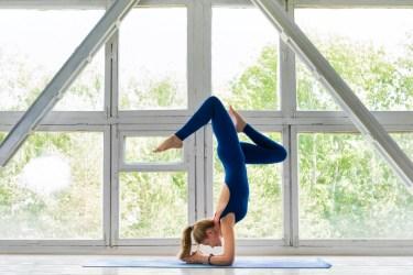 Traditional inversion pose