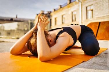 Self-Compassion Yoga Pose