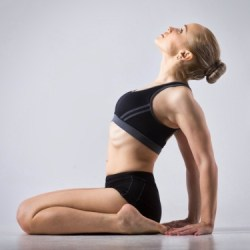 morning yoga pose hero