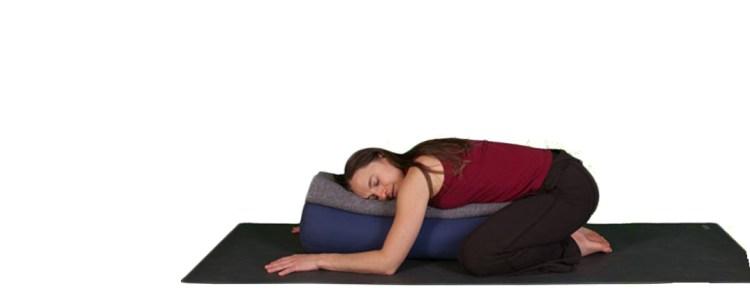 Pour le dos : Posture du fœtus, avec support