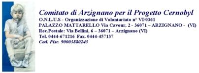 COMITATO DI ARZIGNANO PER IL PROGETTO CERNOBYL