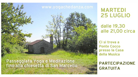 passeggiata yoga meditazione san marcello MONTORSO VICENTINO