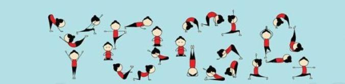 simboli yoga lettering