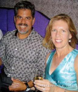 Photo of Huck and Dana in 2008.