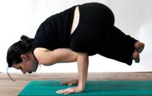 Yoga photo shoot at Srephanie Berger's studio.