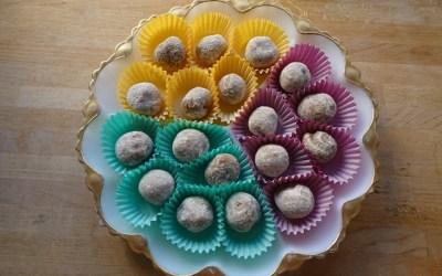 Persian Tahini and Orange Zest Truffles