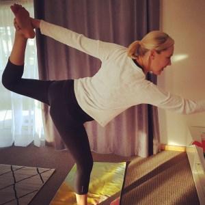 Yoga at home