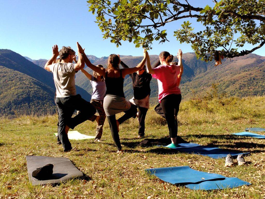 Atelier yoga en Haute Ariége