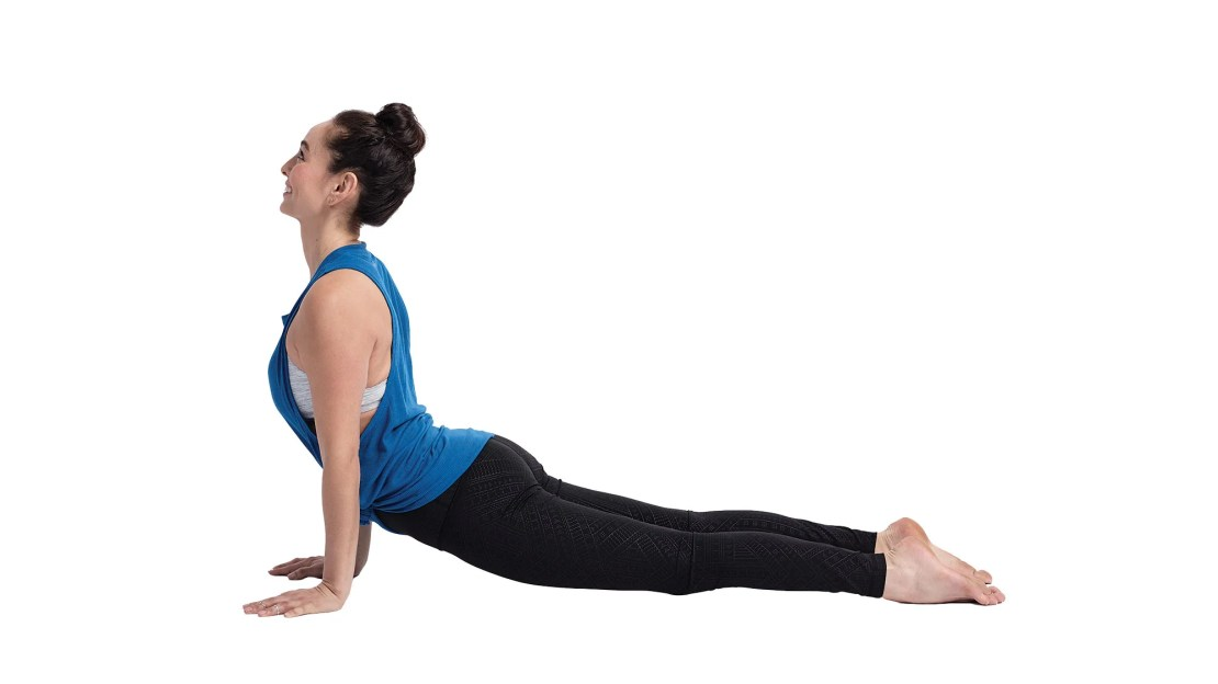 on International Yoga Day Urdhva Mukha Svanasana (Upward-Facing Dog is a forward-facing Dog).
