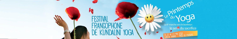 Le Printemps du Yoga – Festival de Kundalini Yoga