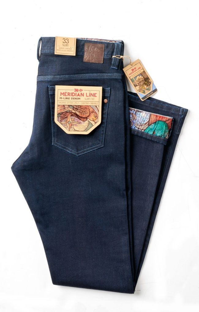 Meridian Line Performance Denim