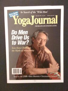 "OccupYOGA Yoga Journal ""do men drive us to war"" Yoganomics"