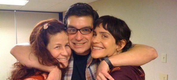 Dana Flynn, Brian Castellani and Jasmine Tarkeshi