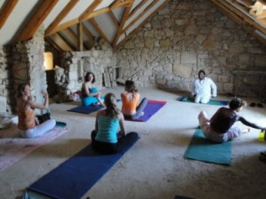 Suncokret Yoga Retreat - yoga twice a day!