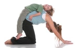 Rainbow Kids Yoga cat massage-3