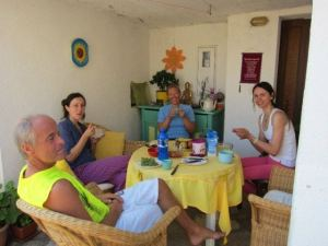 Suncokret Yoga Retreat Breakfast