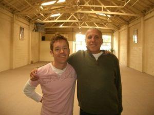 Larry Schultz - It's Yoga w/ student Luke