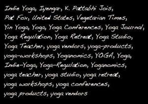 yoga-words