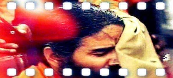 Black ink thrown at #yoga guru (Baba Ramdev), man held