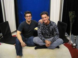 Brian Castellani of Yoganomics and Antonio Sausys of Yogi Views