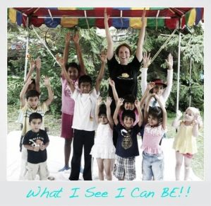 Janet Williams – What I See I Can BE - Childrens Yoga Books - Yoganomics