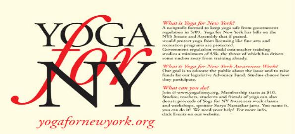 YogaforNewYork | Yoga4NY | YogaforNY | Yoganomics