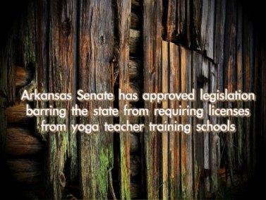 Arkansas Senate Rules on Yoga Teacher Trainings | Yoganomics