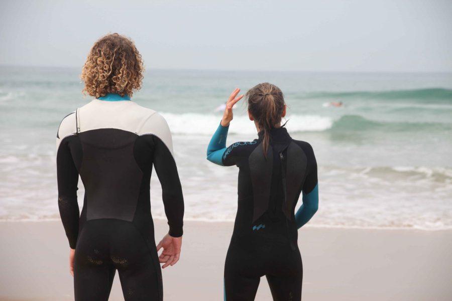 Wellen gucken Yogareise El Palmar Spanien