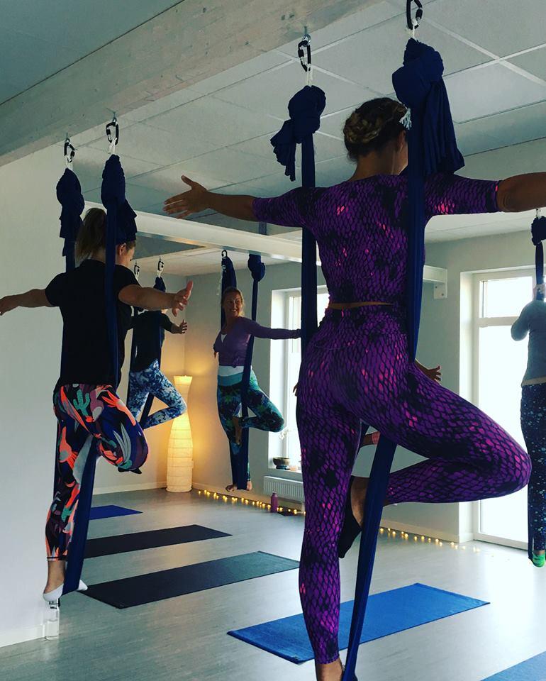 aerial yoga workshop 2