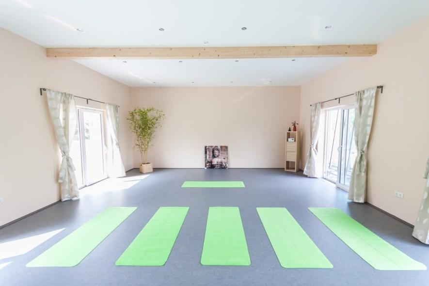 Yoga Kursraum in Ladenburg