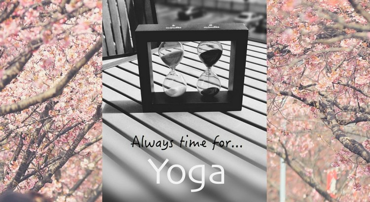 Always Time for Yoga - YogaShelf Daily Practice Tips