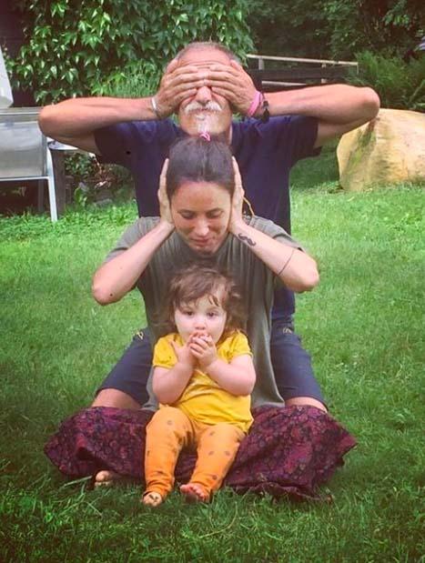 3 générations de yogis