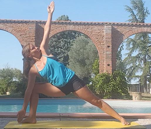 triangle yoga bikram