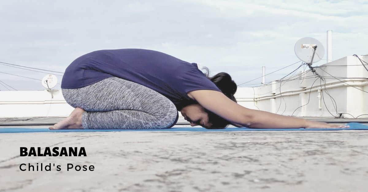 Balasana or Childs Pose - Yoga with Ankush