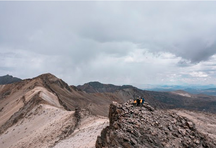 Yoga Chachani Mountain 2