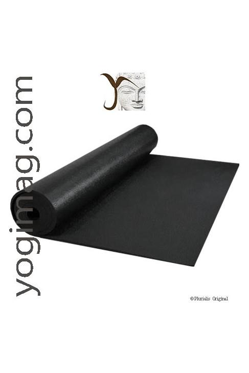 tapis de yoga pro noir kp